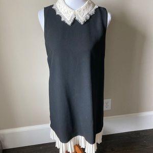 Nanette Lepore black dress with feminine accents